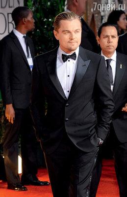 На церемонии вручения премии «Золотой глобус», 15 января 2012 г.