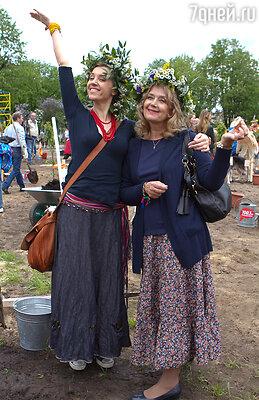 Ирина Алферова и Ксения Алферова