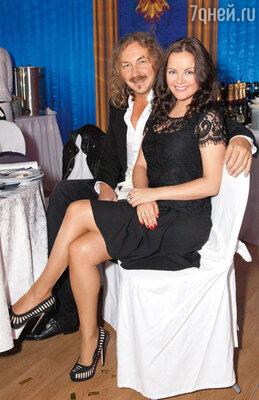 Игорь Николаев с женой ЮлиейПроскуряковой