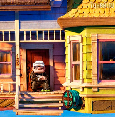 Кадр из мультфильма «Вверх»