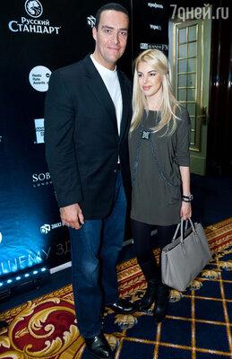 Александр Невский с женой