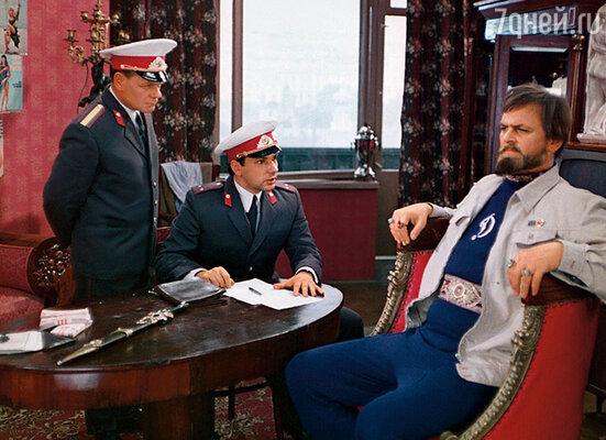 В фильме Гайдая «Иван Васильевич меняет профессию» Юра продемонстрировал свой яркий комедийный талант