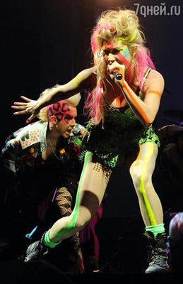 Выступление певицы Ke$ha
