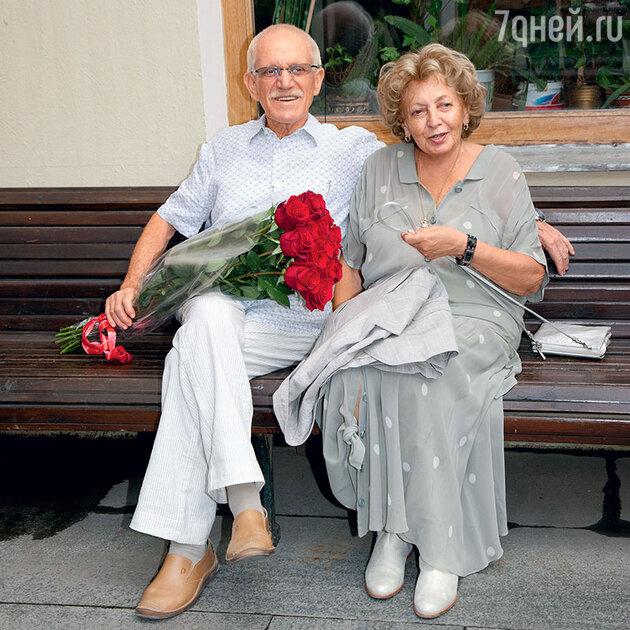 Валерий Тодоровский с женой Лилей. 2010 г.