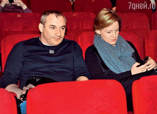 Николай Фоменко с женой Наталией Кутобаевой