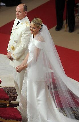 Венчание князя Монако Альбера II и Шарлин Уиттсток. 2 июля 2011 года