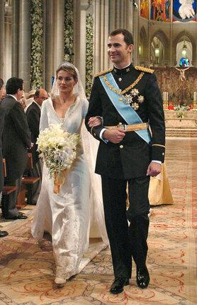 Свадьба принца Астурийского Филипе и Летиции Рокасолано. 22 мая 2004 года