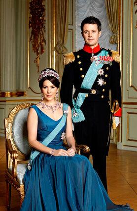 Кронпринц Дании Фредерик и Мэри Дональдсон. 26 марта 2009 года
