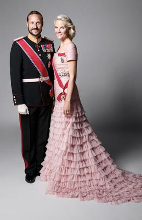 Наследный принц Норвегии Хокон и Метте-Марит Хёйби. 20 января 2011 года