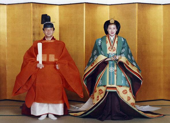 Свадьба кронпринца Японии Нарухито и Масако Овада. 9 июня 1993 года