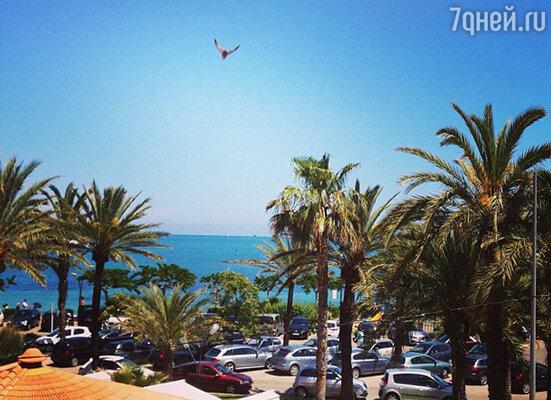 Антиб — курорьный город на Лазурном берегу