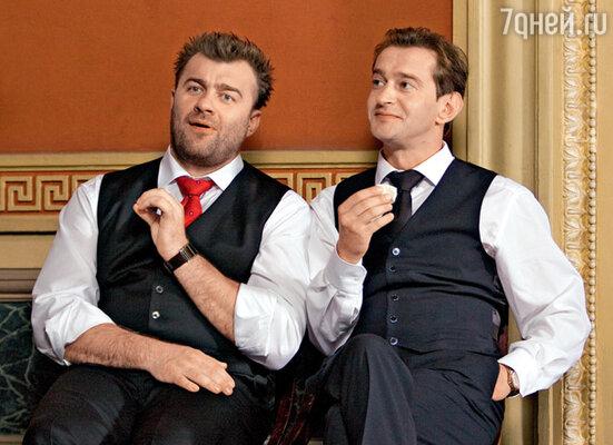 Главные герои Андрей (Хабенский) и Вениамин (Пореченков) на том свете работают адвокатами
