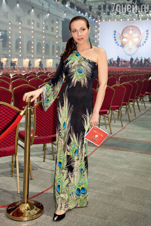 Екатерина Гусева. Церемония вручения премии «Золотая маска». 2011 г.