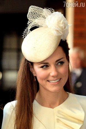 Кейт Миддлтон на крестинах принца Джорджа