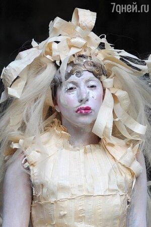 Леди Гага вышла на улицы Лондона в очередном эпатажном образе