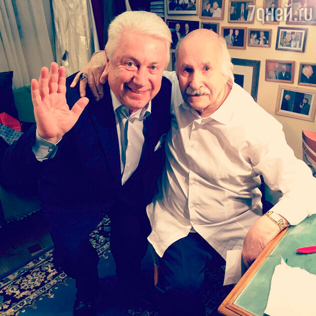 Владимир Зельдин и Владимир Винокур