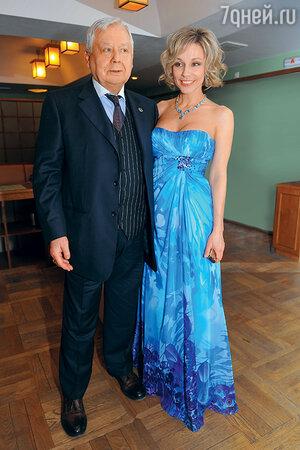 Олег Табаков и Марина Зудина. 2012 г.
