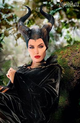 Анджелина Джоли в фильме «Малефисента»