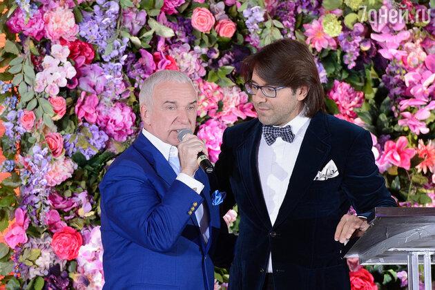 Андрей Малахов и Станислав Попов
