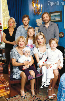«К сожалению, мы редко видимся, а я очень люблю, когда у меня дома собирается все мое семейство».