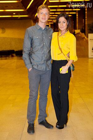 Алексей Гоман с женой