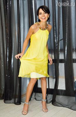 Это солнечное платьишко Насте в Майами купил любимый