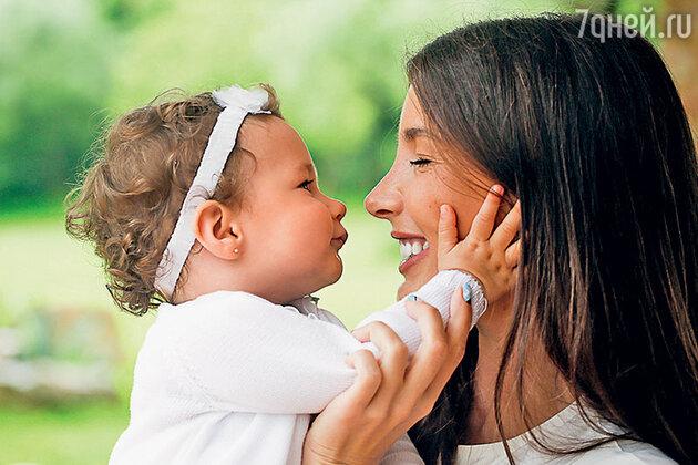 Кети Топурия с дочерью