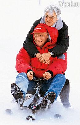 Берни Экклстоун, руководитель «Формулы 1» и большой друг Ники, в начале карьеры участвовал в соревнованиях как гонщик