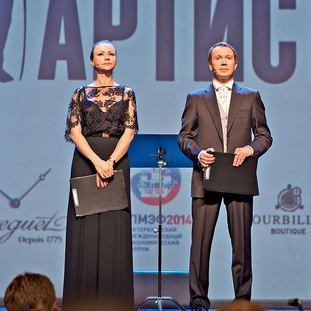 Мария Миронова с Евгением Мироновым