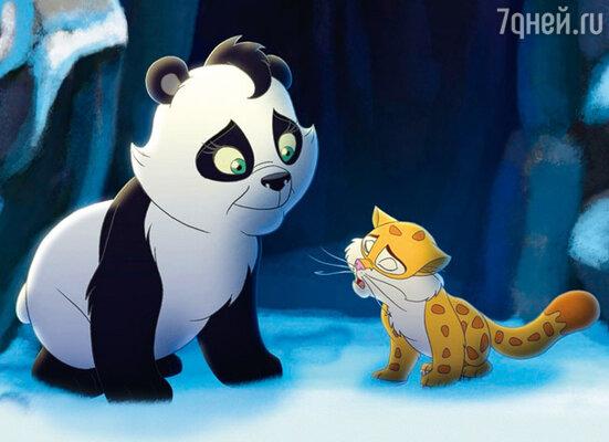 Кадр мультфильма «Смелый большой панда»
