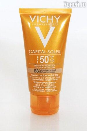 Тонирующий BB-крем для лица Capital Soleil от Vichy