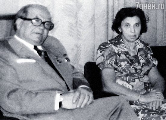 Илюшины родители Лев Анатольевич и Клара Борисовна