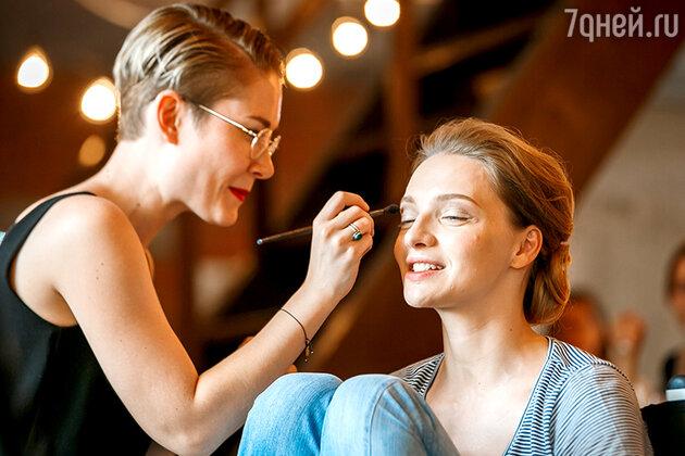 Екатерина Вилкова предпочитает макияж в натуральных тонах