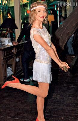 Кристина Асмус на одной из вечеринок 34-го ММКФ. 2012 г.