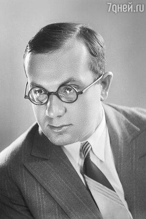 1939 год.  Игорь Ильинский