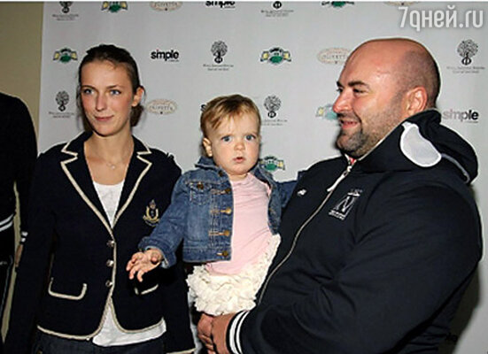 Григорий Погосян с семьей