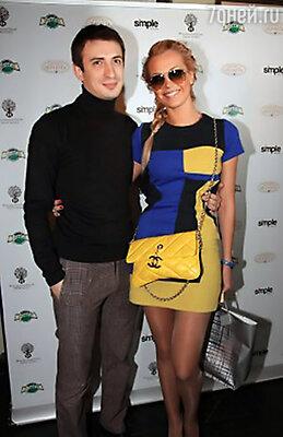 Алексей Гаврилов с подругой Александрой
