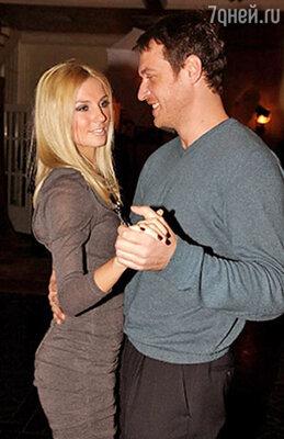 Саша Савельева с мужем Кириллом