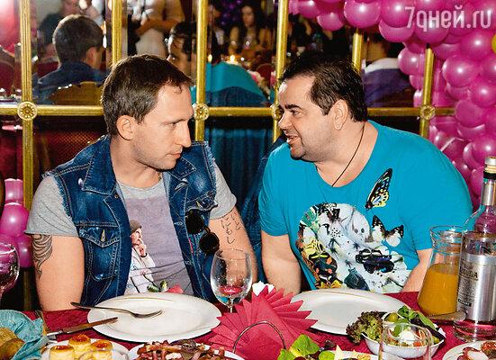 Оскар Кучера и Сергей Рост
