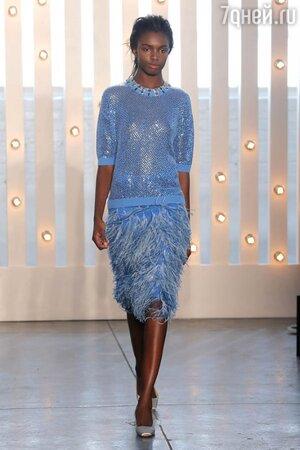Дизайнер Дженни Пэкхем представила свою новую коллекцию сезона осень-зима 2014/15 в рамках Недели моды в Нью-Йорке