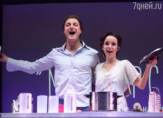 В третьем блоке концерта зрители увидели самые яркие постановочные номера из знаменитых российских и зарубежных мюзиклов