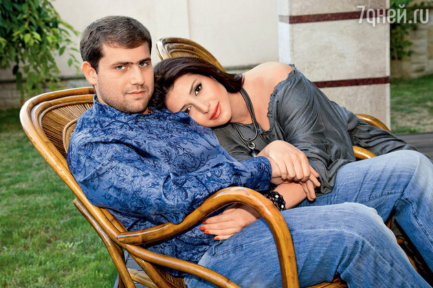 Жасмин с мужем Иланом Шором