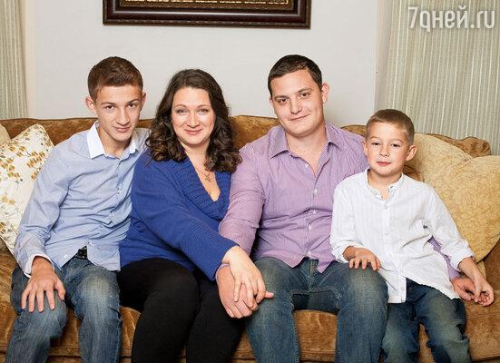 Мой жених Артем и сыновья Костя и Леша