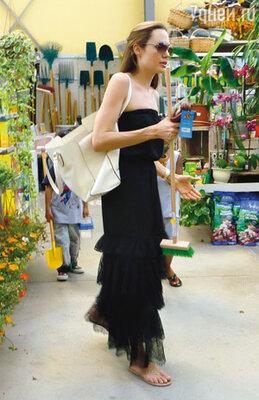Анджелина купила щетку для уборки в клетке грызунов