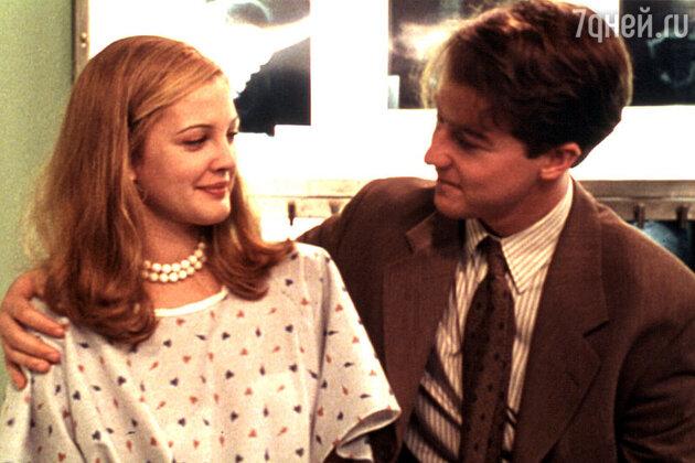 Дрю Бэрримор и Эдвард Нортон в фильме «Все говорят, что я люблю тебя» 1996 г.