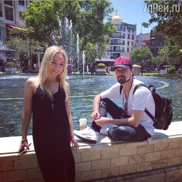 Дима Билан и его сестра