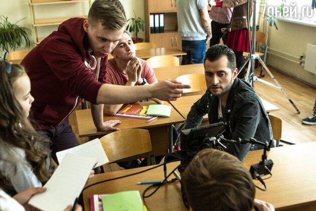 Ираклий Пирцхалава на съемках клипа «Я – это ты»