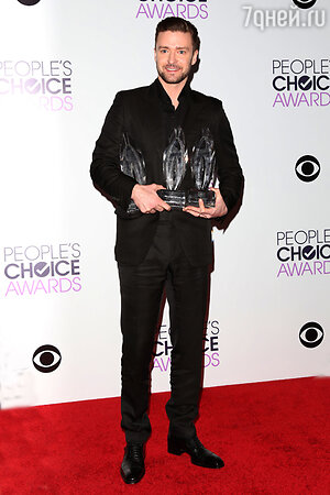Джастин Тимберлейк на церемонии People's Choice Awards 2014