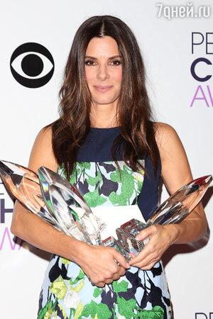 Сандра Буллок на церемонии People's Choice Awards 2014