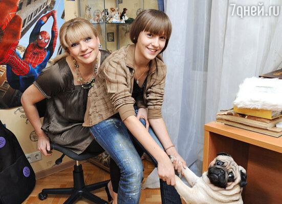 Анна Ардова с дочерью Соней